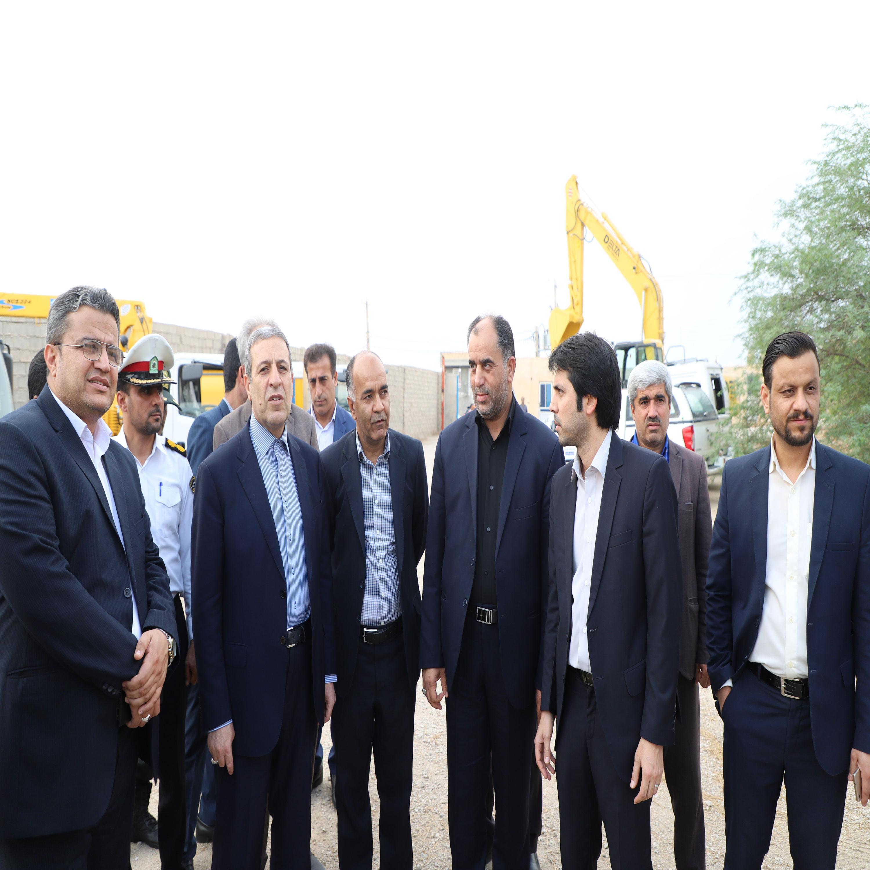 شرکت آب و فاضلاب استان بوشهر به ماشینآلات و تجهیزات پدافند غیرعامل مجهز شد